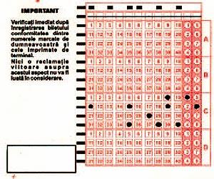 bilet loto 5/40 cu scheme reduse